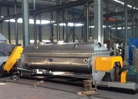 KJG系列空心槳葉干燥機污泥干化機